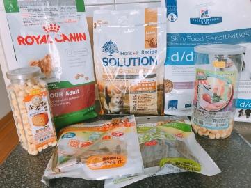 耐吉斯低敏狗飼料與其他狗狗食品