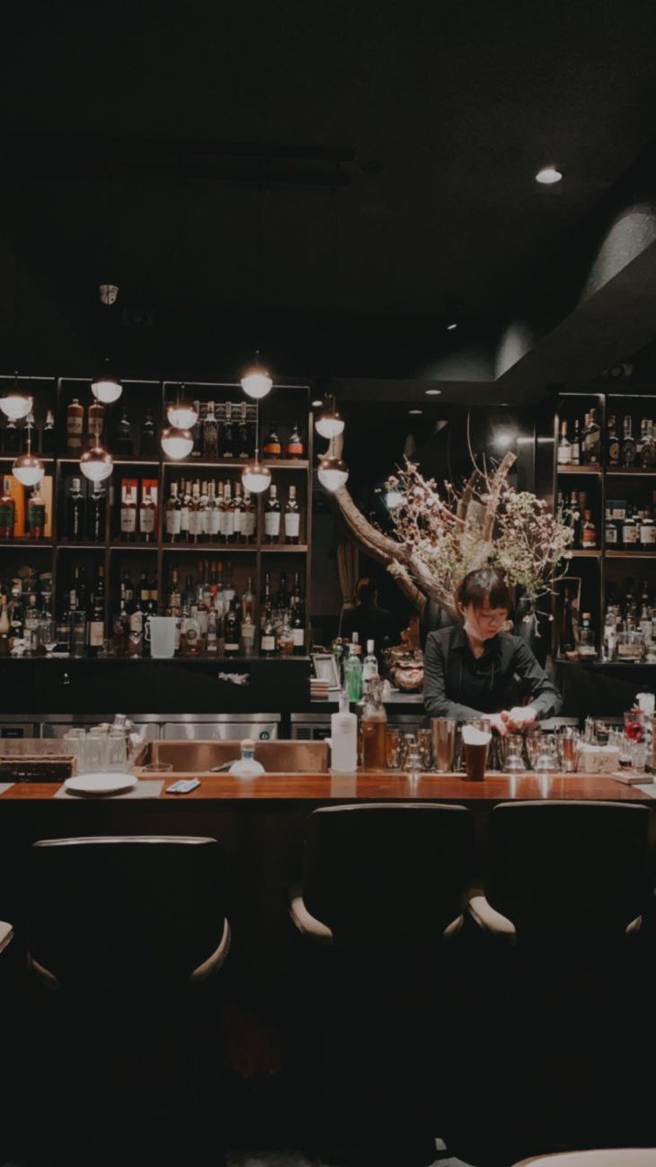 台北東區酒吧吧沐- 吧台