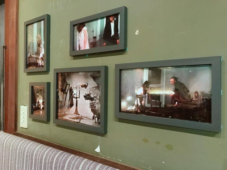 穆勒咖啡館  照片牆